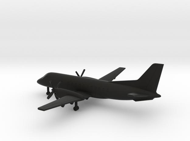 Saab 340 A in Black Natural Versatile Plastic: 6mm