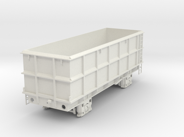 7mm SSA POA Scrap wagon solid in White Natural Versatile Plastic