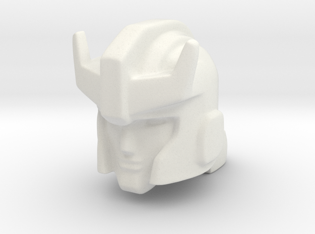 Prowl head with trailer ring in White Natural Versatile Plastic