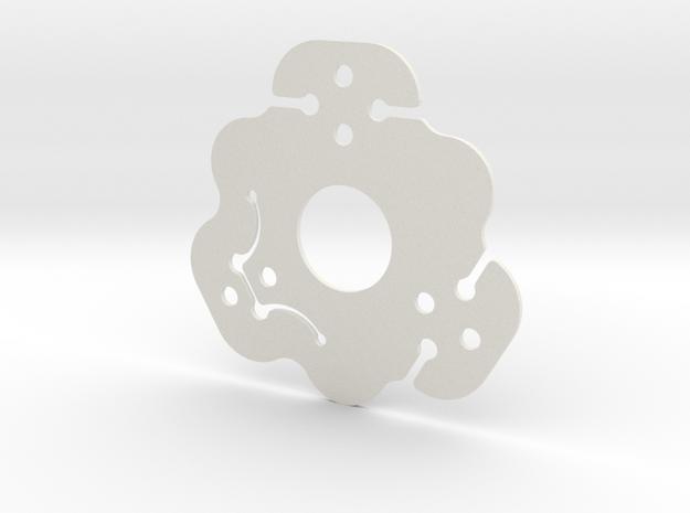 NicNac'3 | D in White Natural Versatile Plastic