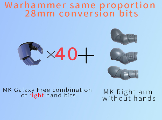 MK Galaxy Free combination of right hand