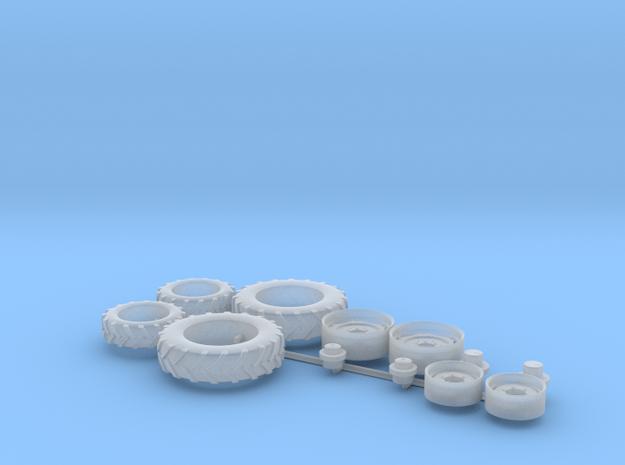 H0 1:87 Reifen für Fendt 206 in Smooth Fine Detail Plastic