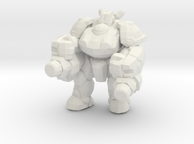 Starcraft 1/60 Terran Heavy Marauder large 4 games in White Natural Versatile Plastic