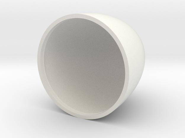 reflector in White Natural Versatile Plastic