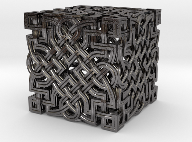 Infinity Knot - Six Face Cube