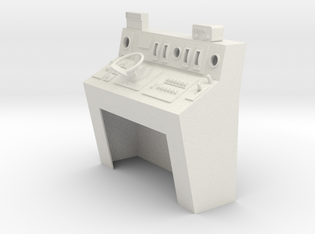 Pupitre 440 escala 1:11 in White Natural Versatile Plastic