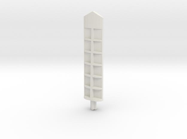 Tool Extension AeroSlicer in White Natural Versatile Plastic