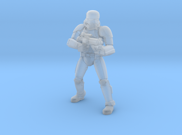 First Trooper A4 in Smoothest Fine Detail Plastic