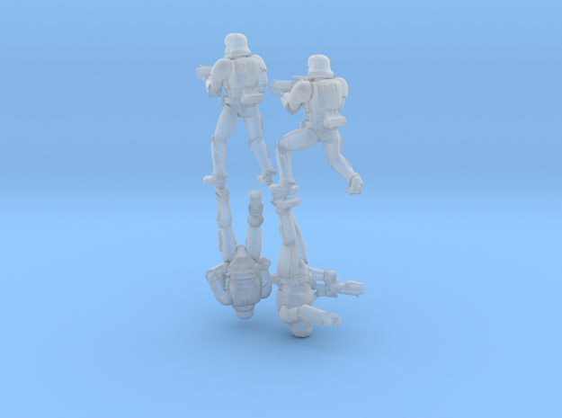 First Troopers Squad A (x4) in Smoothest Fine Detail Plastic