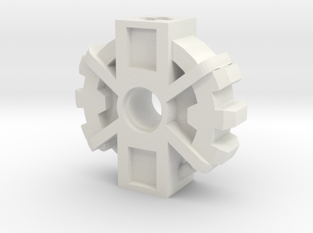 Onewa Weapon Junction in White Natural Versatile Plastic
