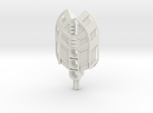 Double Cleaver in White Natural Versatile Plastic