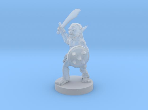 Goblin - Melee in Smooth Fine Detail Plastic