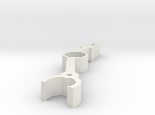 [Q11] Landing Gear Leg in White Natural Versatile Plastic