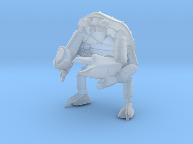 mutant_crab_man1 in Smooth Fine Detail Plastic