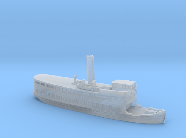 "Steamer ""Gustafsberg VII"" (1912) in 1/1250 scale in Smoothest Fine Detail Plastic"