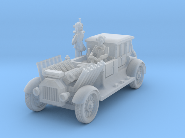 post apocalypse classic car with motorov kartel in Smooth Fine Detail Plastic
