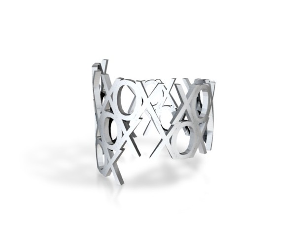 Ring Poem XOX-Blue Jeans Look 3d printed