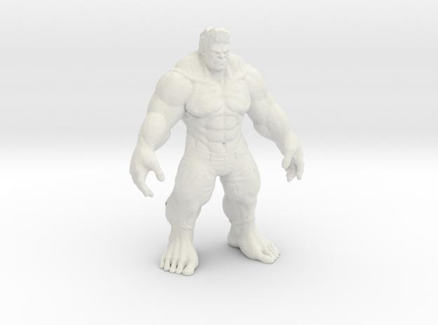 Hulk in White Natural Versatile Plastic