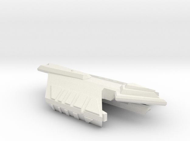 3788 Scale Ymatrian Poniard Frigate Leader MGL in White Natural Versatile Plastic