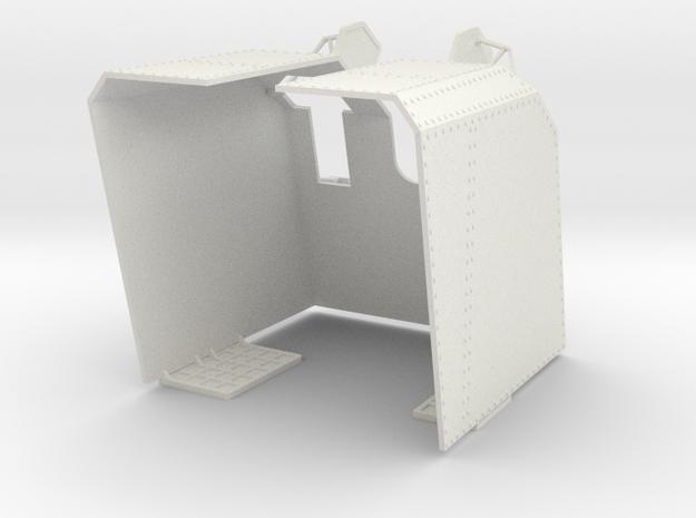 Part 3 Hütte 105 SK C32 in White Natural Versatile Plastic