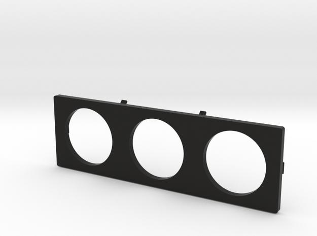 Daihatsu Feroza Gauge Holder in Black Natural Versatile Plastic