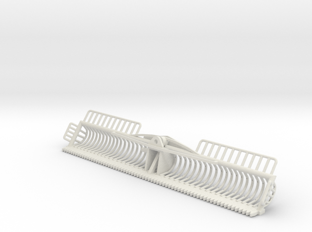 1/32 4 meter Maaikorf in White Natural Versatile Plastic