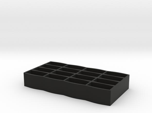 JUUL POD Casing holder 16 in Black Natural Versatile Plastic