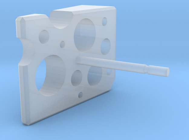 Cheese in Smooth Fine Detail Plastic
