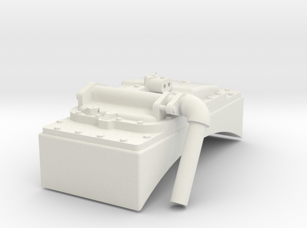 G Scale Reading T1 Feedwater Heater in White Natural Versatile Plastic