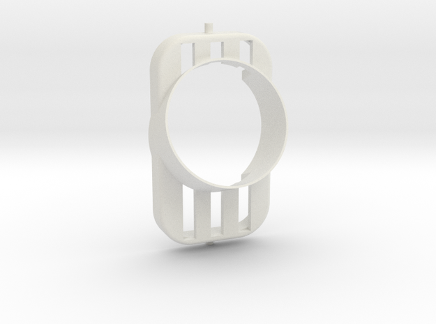 Nissan S13 vent gauge holder in White Natural Versatile Plastic