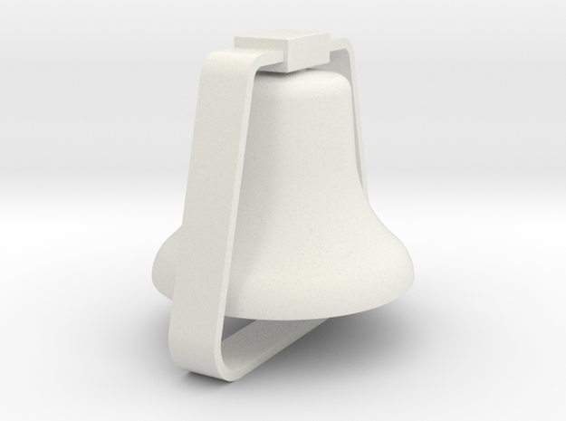 Diesel Bell in White Natural Versatile Plastic