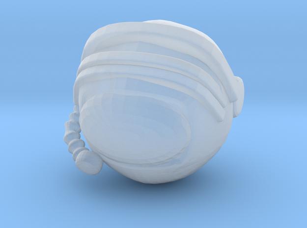 SpaceHelmetv3a in Smoothest Fine Detail Plastic