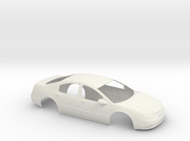 1/12 1998 Chrysler 300M Shell in White Natural Versatile Plastic