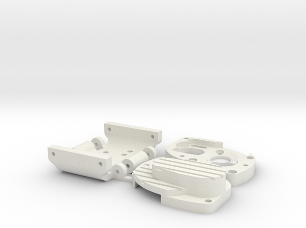1/24 Barrage conversion to Losi transmission and 1 in White Natural Versatile Plastic