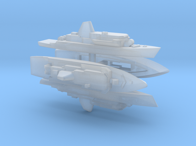 1800 Avenger x4 in Smooth Fine Detail Plastic