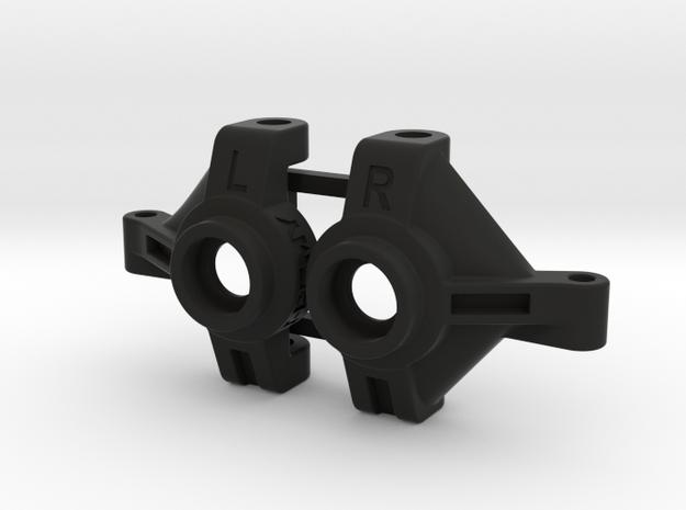 Redcat Everest Gen7 Knuckles, Steering Angle, Acke in Black Natural Versatile Plastic