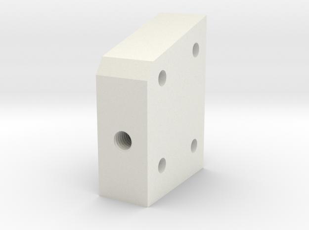 05.03.01.01.05 Lower Spacer in White Natural Versatile Plastic