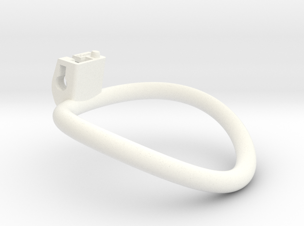 The Cherry Keeper Circular Ring - 65mm in White Processed Versatile Plastic