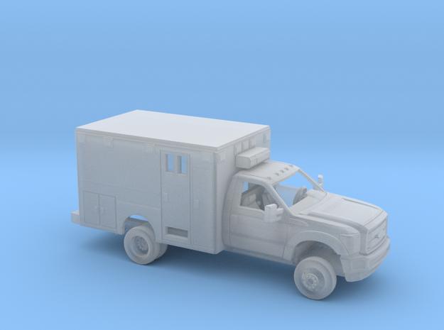 1/87 2011-16 Ford F Series RegCab Ambulance Kit in Smooth Fine Detail Plastic