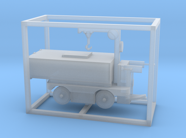 E-Karren Müllwagen V2 mit Kran - 1:120 TT