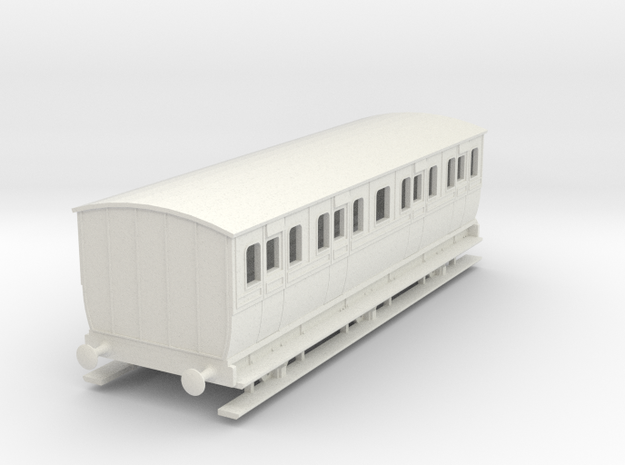 0-87-mgwr-6w-lav-1st-coach in White Natural Versatile Plastic