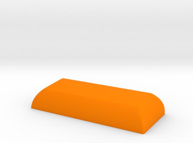 2.25c HuB Spacebar in Orange Processed Versatile Plastic