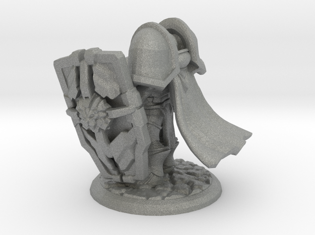 Tristan the Holy Paladin in Gray PA12