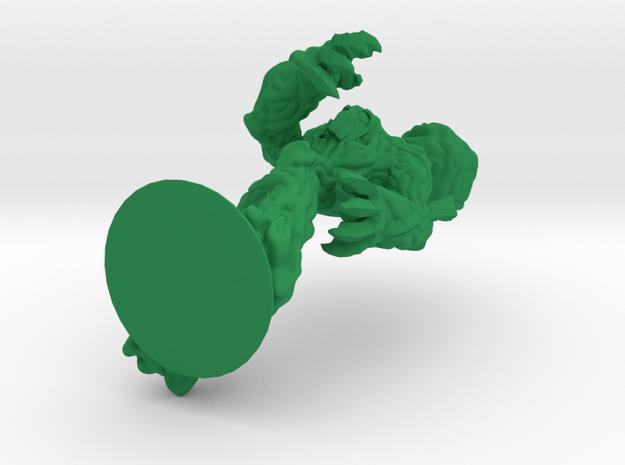 Birdsgrow the Treant in Green Processed Versatile Plastic