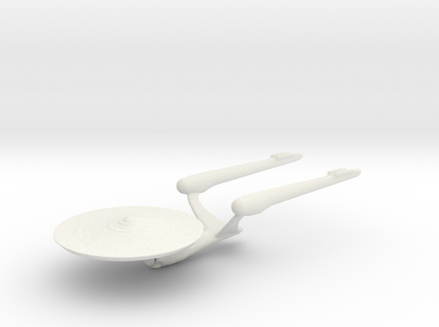 Enterprise A ST Beyond in White Natural Versatile Plastic