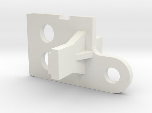 Ikea KVARTAL Hardware replacement part in White Natural Versatile Plastic