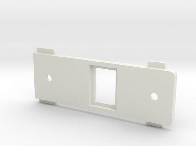 Preston FIZ2 ADAPTER PRESTON PLATE PART Omnishot in White Natural Versatile Plastic