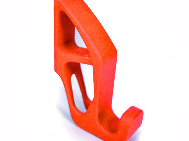Hyperhook in Orange Processed Versatile Plastic