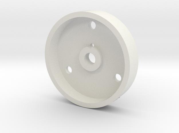 08.03.01.03.09 Bottom body Rev1 in White Natural Versatile Plastic