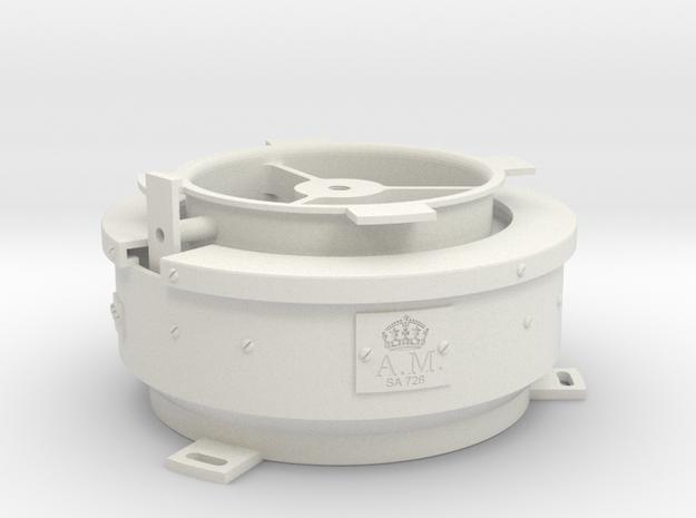 08.03.04.03 Compass Body Rev1 in White Natural Versatile Plastic